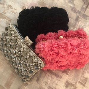 Pink Haley 3 New Styles Of Minaudière Clutches